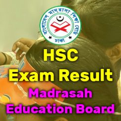 HSC/Alim Result Madrasah Board