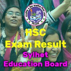 HSC Result Sylhet Board